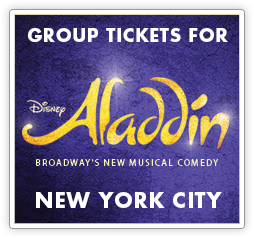 Group Tickets for Aladdin in New York City