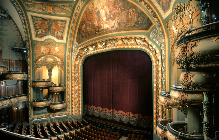 Broadway Theater Tours Amp Rentals New Amsterdam Theatre